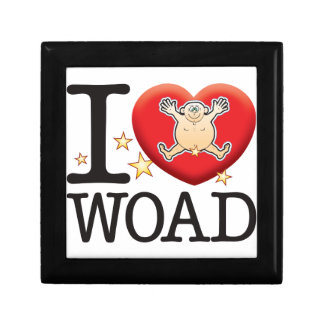 Woad Love Man Small Square Gift Box