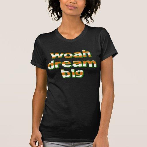 WOAH DREAM BIG TSHIRTS
