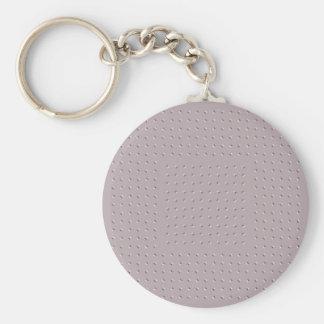 Wobbly Illusion Basic Round Button Key Ring