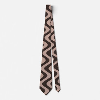 Wobbly Waves (Brown/Brown) Tie