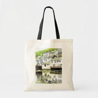 'Wobbly Windows' Bag Budget Tote Bag