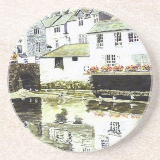 'Wobbly Windows' Coaster