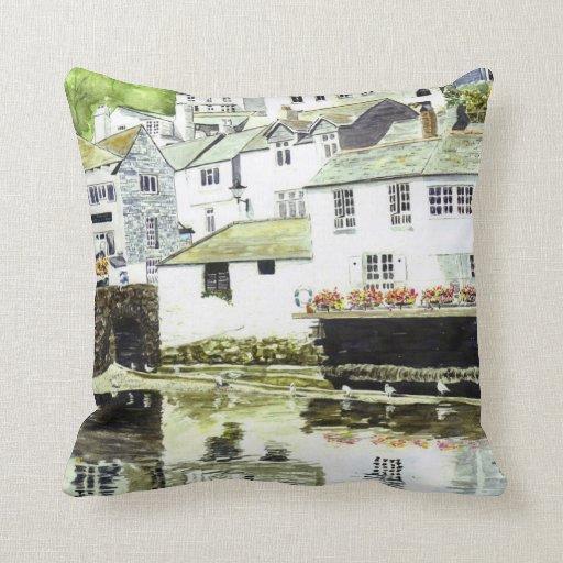 'Wobbly Windows' Pillow