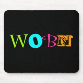 wobn logo copy mouse pad