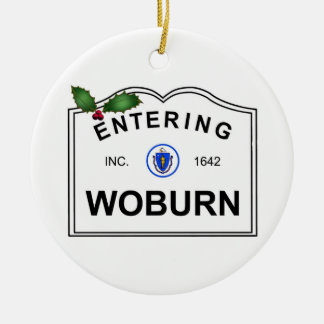 Woburn MA Christmas Ornament