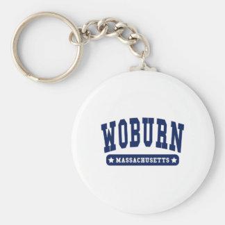 Woburn Massachusetts College Style tee shirts Key Chain
