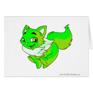 Wocky Glowing Greeting Card
