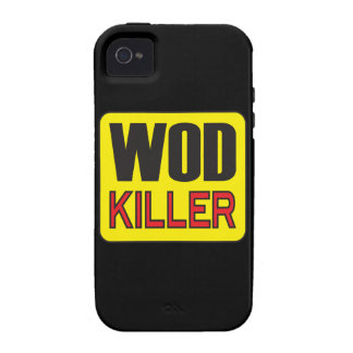 WOD Killer - Workout And Weight Lifting Case-Mate iPhone 4 Covers