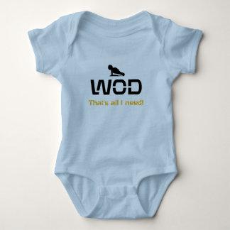 WOD That's all I need! Baby Bodysuit