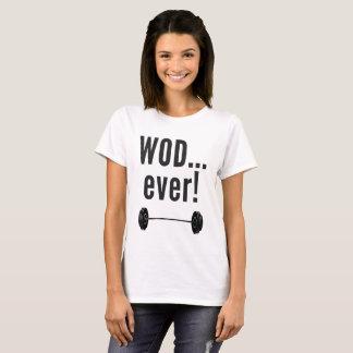 WODever!  Crossfit-Inspired Fitness Novelties T-Shirt
