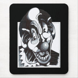 Woger the Clown Mouse Pad