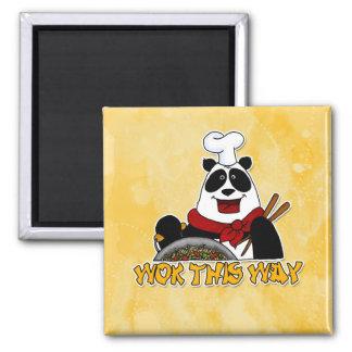 wok this way square magnet