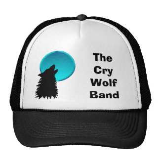 wolf4 The Cry Wolf Band Trucker Hat