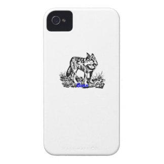 wolf.ai iPhone 4 Case-Mate case