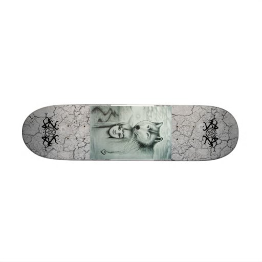 Wolf and Child. Skateboards