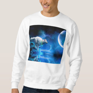 Wolf and Moon Sweatshirt