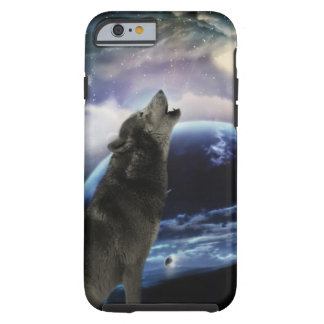 wolf and moon tough iPhone 6 case