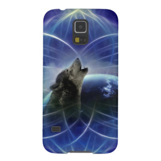 Wolf and the dreamcatcher case for galaxy s5
