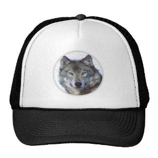 Wolf animal totem hats