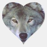 Wolf animal totem stickers