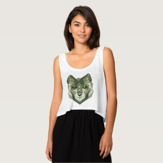 Wolf Animals Gift Tank Top