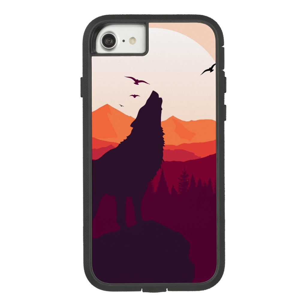 Wolf Apple iPhone 7, Tough Xtreme Phone Case