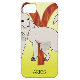 Wolf Aries Barely There iPhone 5 Case