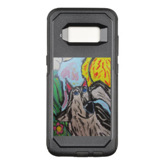 wolf art 2 OtterBox commuter samsung galaxy s8 case
