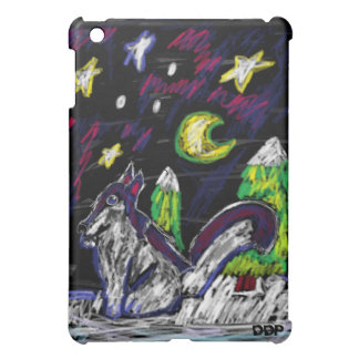 Wolf art 4 iPad mini case