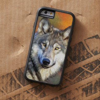 Wolf Art Painting Image Tough Xtreme iPhone 6 Case