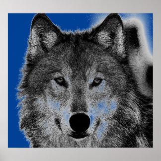 Wolf Artwork Poster