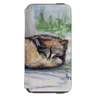 Wolf At Rest Incipio Watson™ iPhone 6 Wallet Case