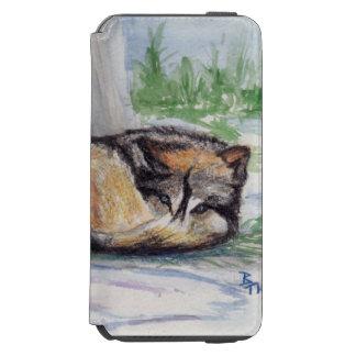 Wolf At Rest Incipio Watson™ iPhone 6 Wallet Case