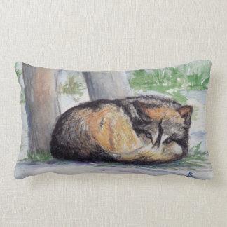 Wolf At Rest Lumbar Cushion