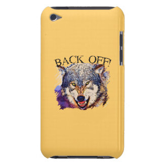 WOLF ... BACK OFF! iPod Touch Case-Mate Case