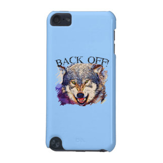 WOLF BACK OFF iPod Touch Speck Case iPod Touch (5th Generation) Covers