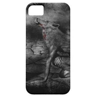 Wolf Barely There iPhone 5 Case