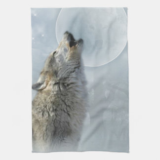 Wolf Blue Moon American MoJo Kitchen Towel