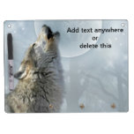 Wolf Blue Moon Dry Erase Board