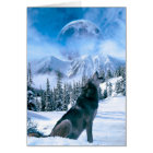 Wolf Call Card