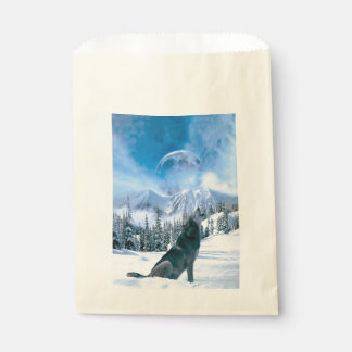 Wolf Call Favour Bags