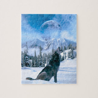 Wolf Call Jigsaw Puzzle