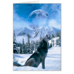 Wolf Call Note Card