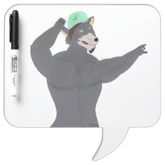 WOLF CAPE DRYING COUNTS/TABLE WOLF CAP DRY ERASE BOARD