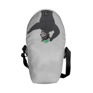 WOLF CAPE SATCHEL/SATCHEL WOLF CAP MESSENGER BAGS