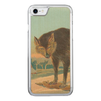 Wolf Carved iPhone 8/7 Case