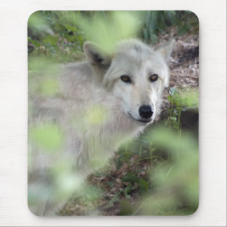 Wolf Charm Mouse Mat