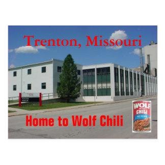 Wolf Chili Postcard