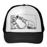 wolf-clip-art-4 trucker hat