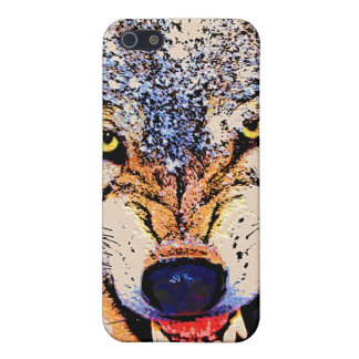 WOLF CLOSE-UP iPhone 5 CASE